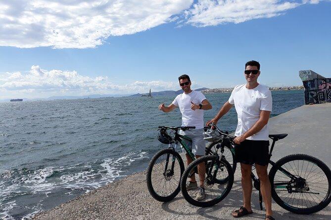 Half-day e-bike tour in Athens and Riviera