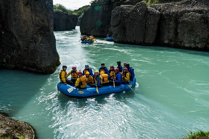 Full-Day Golden Circle Tour with River Rafting from Reykjavik