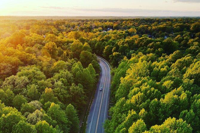 GPS-Guided Audio Driving Tour between Gravenhurst (Muskoka) & Toronto