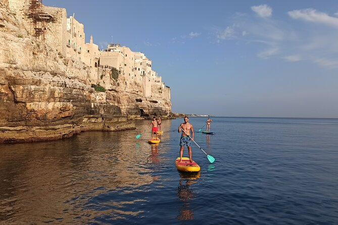 SUP ride to the Polignano a Mare caves