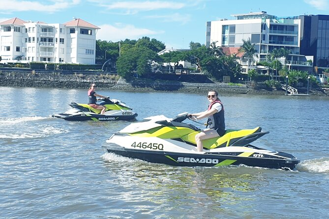 Brisbane Jet Ski Tour; No License or Experience Required...