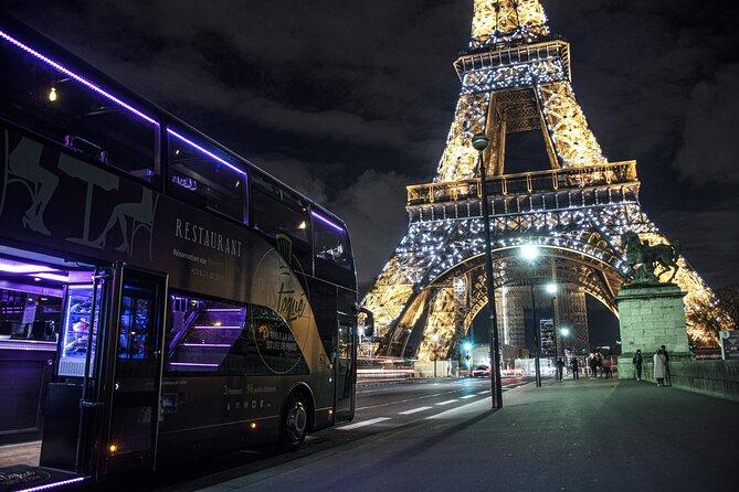 Bus Toque Restaurant PARIS BY NIGHT