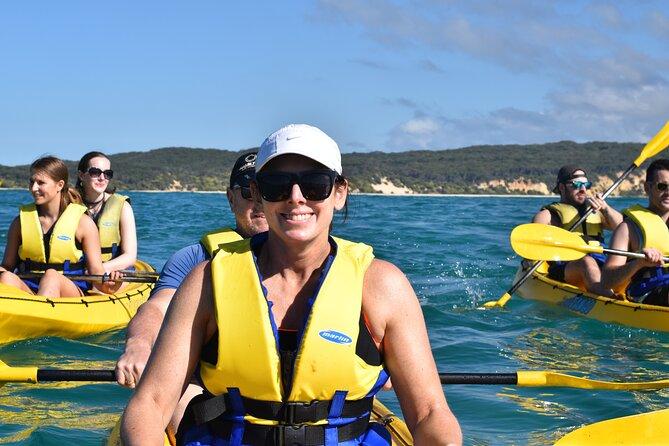 3 Hour Rainbow Beach Sea Kayak with Dolphins & 4x4 Beach Drive