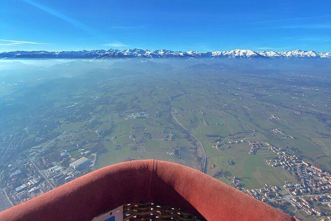 Mondovì week hot air balloon flight
