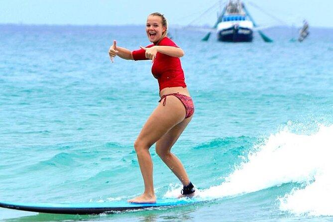 3 Hour Surf Lesson in Australia's Longest Wave and Rainbow Beach 4X4