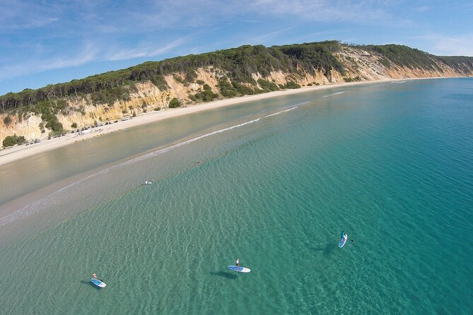 3-Hour Stand Up Paddle Double Island Point and Beach 4X4 Tour