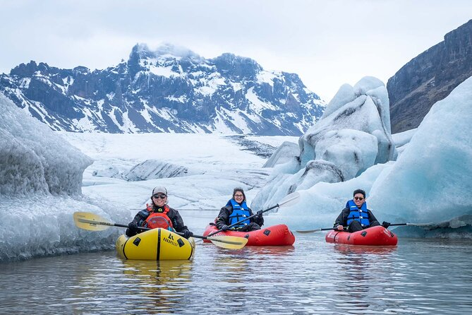 Glacier Hike and Kayaking Combination