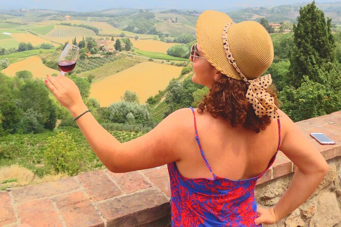 From Rome: Full-Day Trip to Tuscany & Siena with Wine Tasting