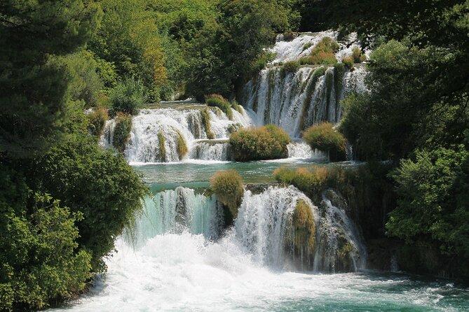 Krka Waterfalls National Park Full-Day tour from Trogir and Split