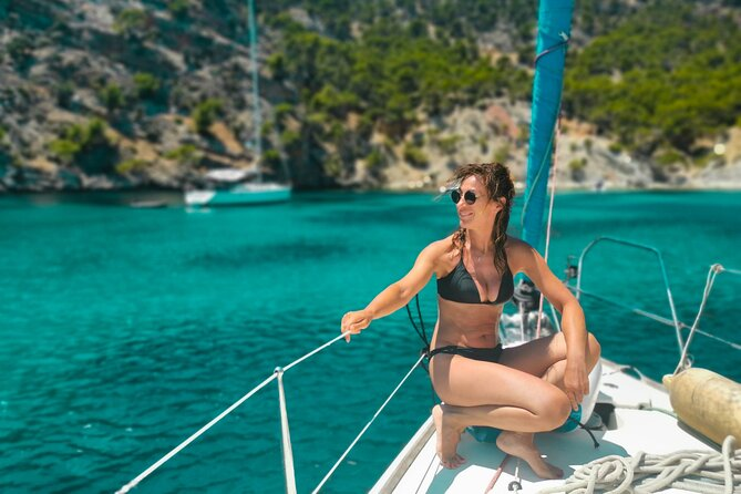 Private Full Day Tour of Ibiza and Formentera in a Sailboat