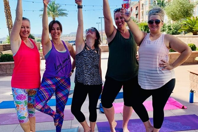 1-Hour Las Vegas Yoga Class and Cocktails Tasting