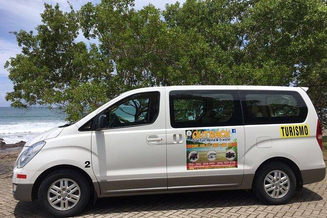 Private transfer from Samara or Carrillo Beach to LIR Airport, Guanacaste