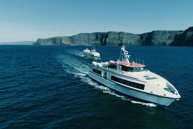 Aran Islands and Cliffs of Moher Day Cruise sailing from Galway City Docks