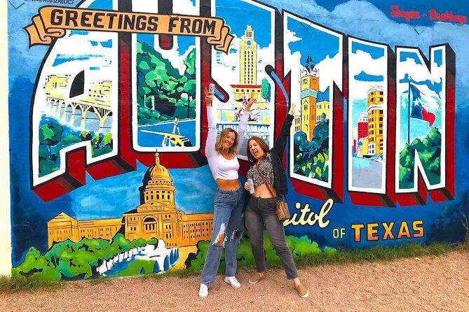 Austin Mural Selfie Tour by Pedicab