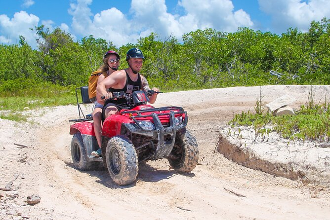ATV and Clear Boat Ride Full Experience in Cozumel
