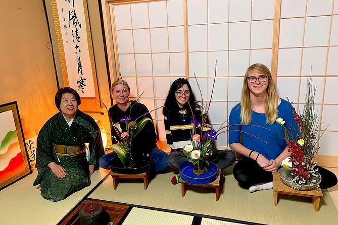 Japanese Flower Arrangement at Zen Temple, Daitokuji Temple