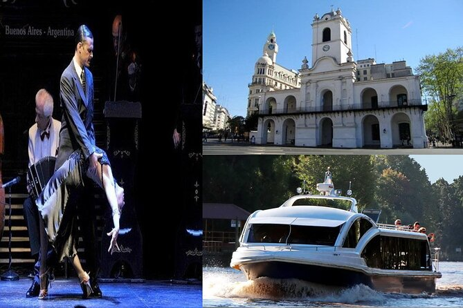 Buenos Aires Super Saver: Small-Group City Tour, Early Tango Show & Tigre Tour