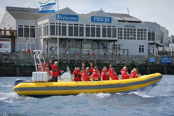 San Francisco Bay Adventure Boat Sightseeing