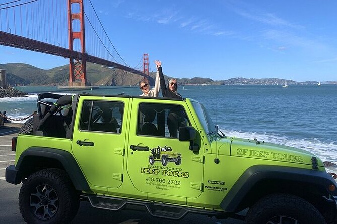 3-Hour Private Group San Francisco Open Top Jeep Tour