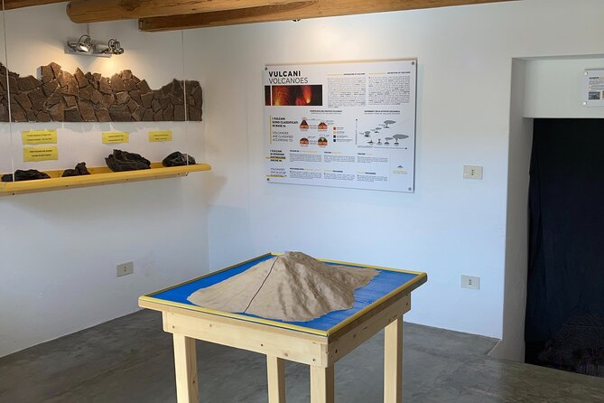 Guided tour of the Stromboli Visitor Center Museum