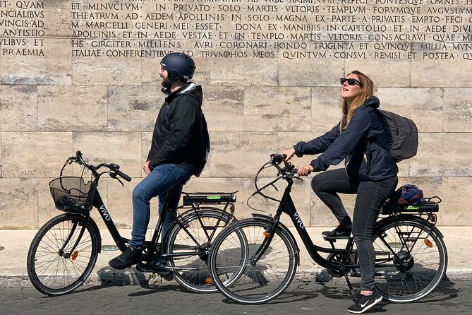 Half-Day Small-Group Highlights of Rome Tour with an E-Bike