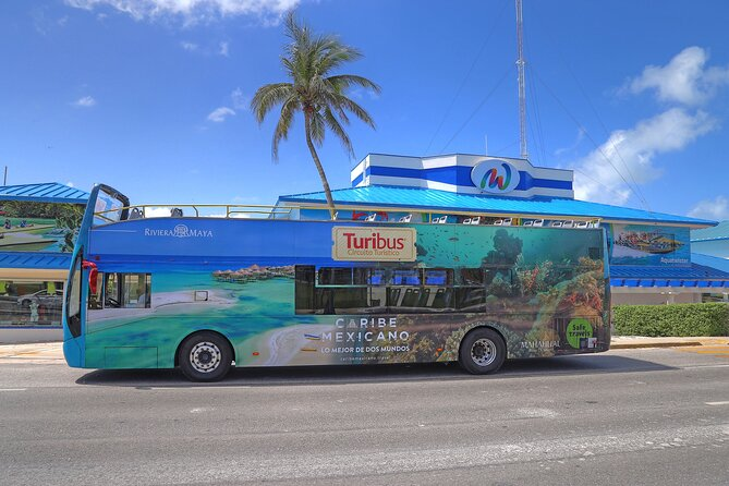 Turibus Hop-on Hop-off City Tour Cancun plus Submarine or Bodyboard Experience