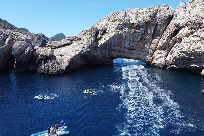 Jet ski tour from San Antonio (Ibiza) to Margaritas Islands
