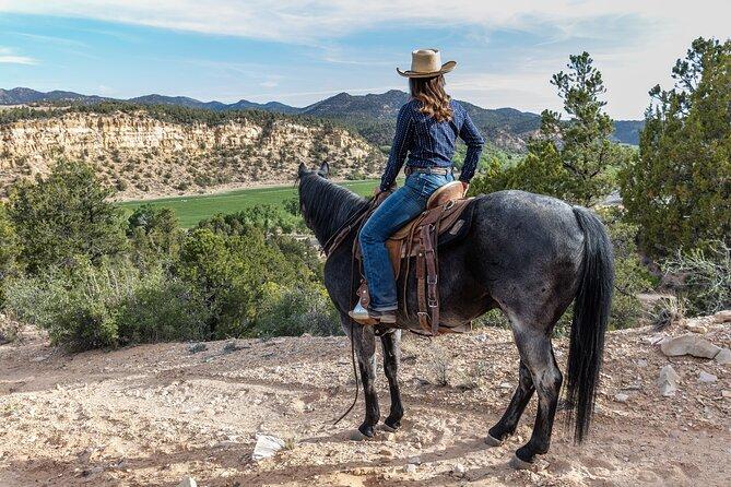 East Zion Resort Horse Trail Riding Tour