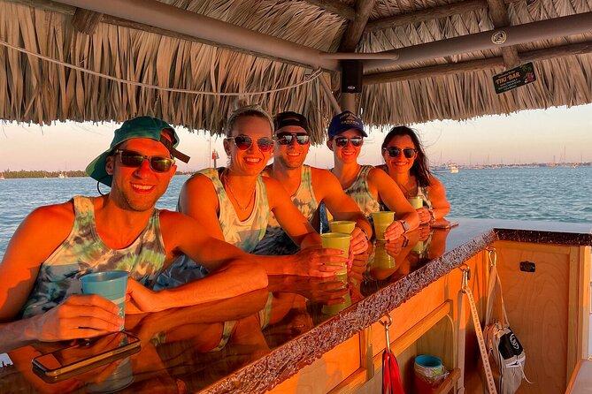 Sunset Tiki Boat Tour in Key West