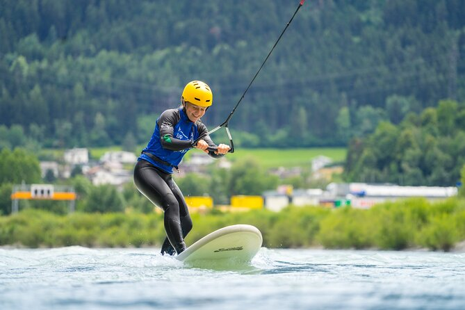 UP STREAM SURFING - The new way of surfing a river