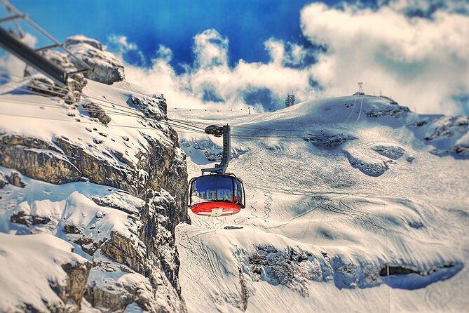 Mount Titlis Glacier Excursion Private Tour from Basel