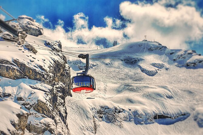 Mount Titlis Glacier Excursion Small Group Tour from Luzern