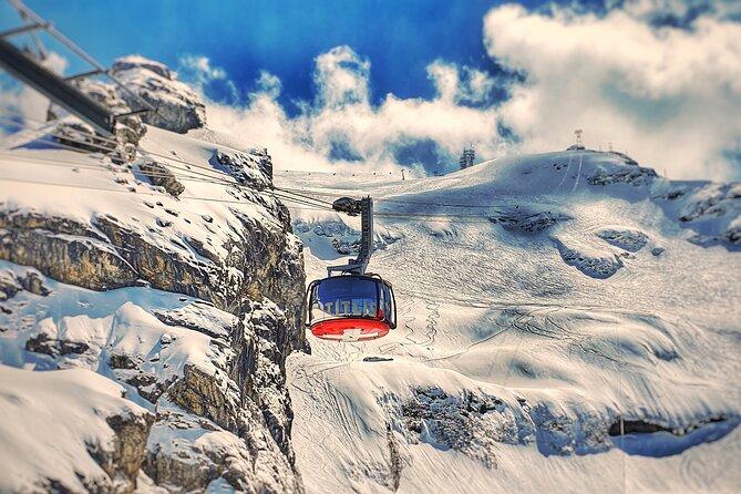 Wereldtour door Titlis-gletsjer met privégids - vanuit Luzern