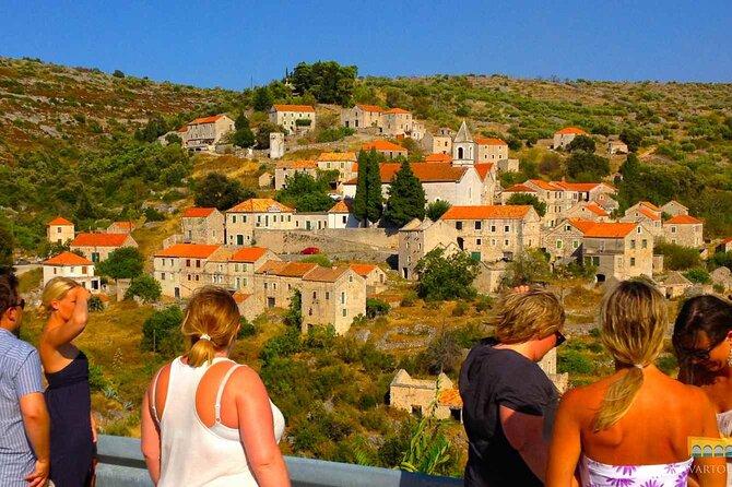Half-Day Wine Tour Visiting 2 Wineries in Hvar