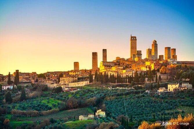 Private tour Siena, San Gimignano and Monteriggioni