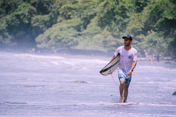 Private 2-Hour Surf Lesson in Playa Hermosa, Puntarenas, Uvita, Osa