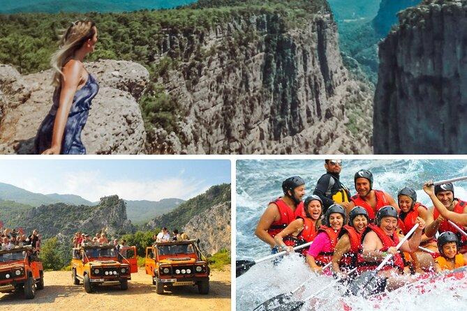 NEW! Tazi Kanion Safari and White Water Rafting Adventure from Antalya