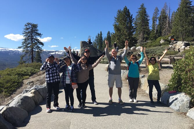 Private Yosemite & Glacier Point Van Tour (Large Family) - with Hotel Pickup !