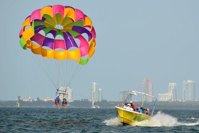 (Parasail or Jet Ski) + Banana ride with Miami Watersports