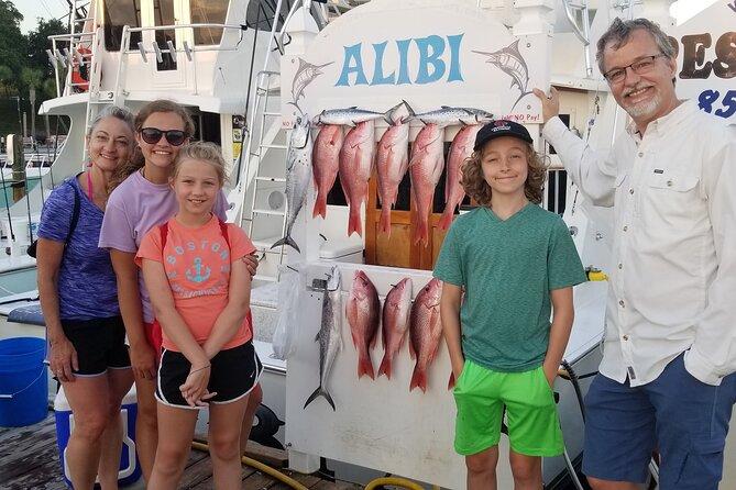Full day 8 hrs Fishing Charter on a 42' Sportfish ,Alibi