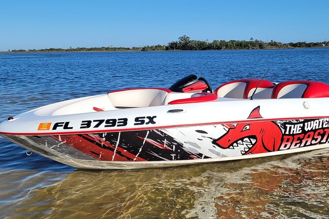 Jet Boat Ride - The Wildest Ride on the Gulf!