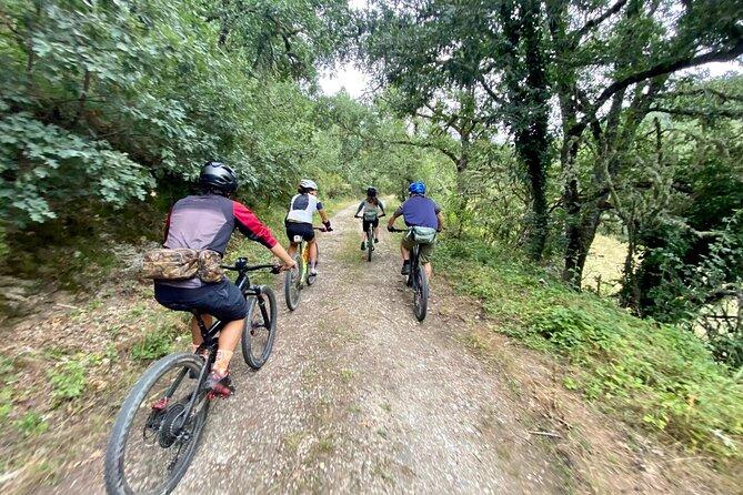 route mountain bike to lake riudecanyes& hermitage