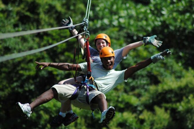 Half-day from Hue: Adventure with Zipline & Highwire Package