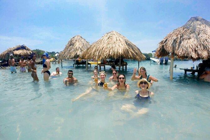 Mambo Beach Club & Rosario Island Including Snorkel
