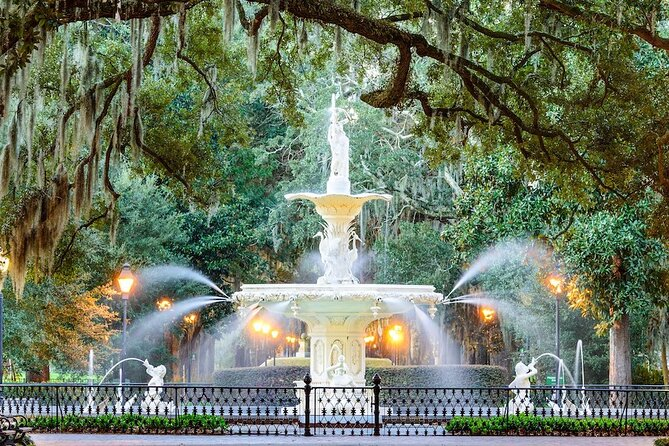 Self-Guided Audio Tour of Savannah's Historical District
