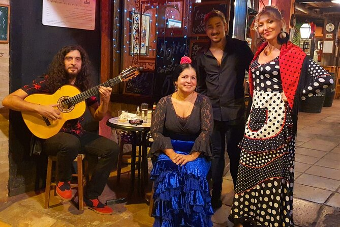 The Ultimate Flamenco Experience (coffee, class, tapas and show with the artist)