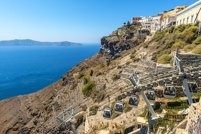 Santorini Cable Car Admission Ticket (One Way) - Lets Book Travel
