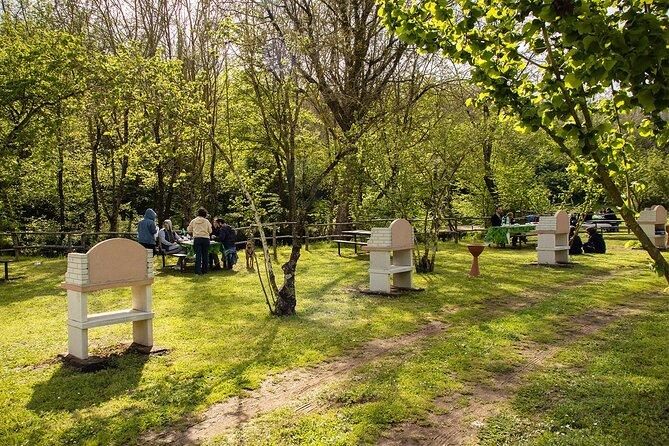 Private Picnic Area with Barbecue Equipment in Capranica