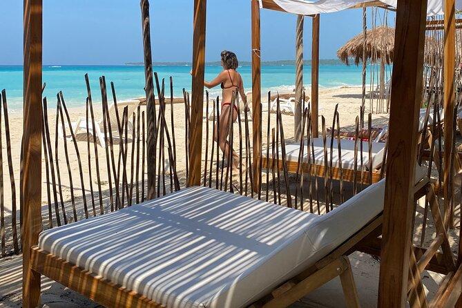 Full-Day in Playa Tranquila , Barú Island from Cartagena