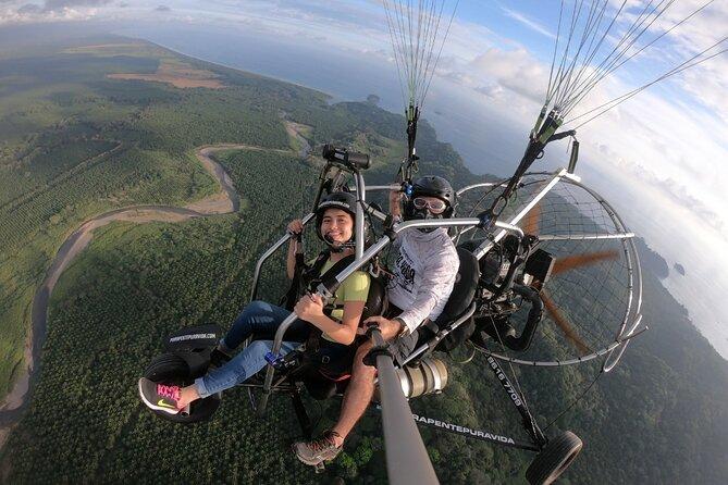 Paragliding Trike Flight